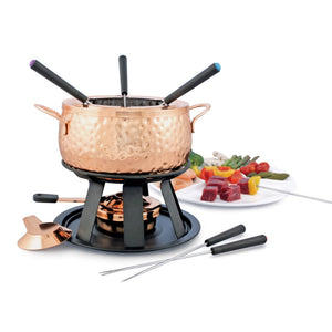 Swissmar -  Biel 11-PC Copper Fondue Set