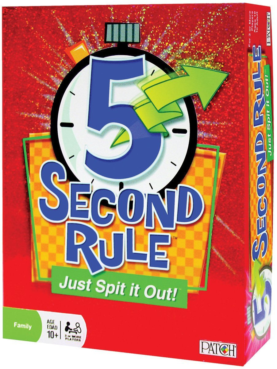 Play Monster - 5 Second Rule-Just Spit It Out!
