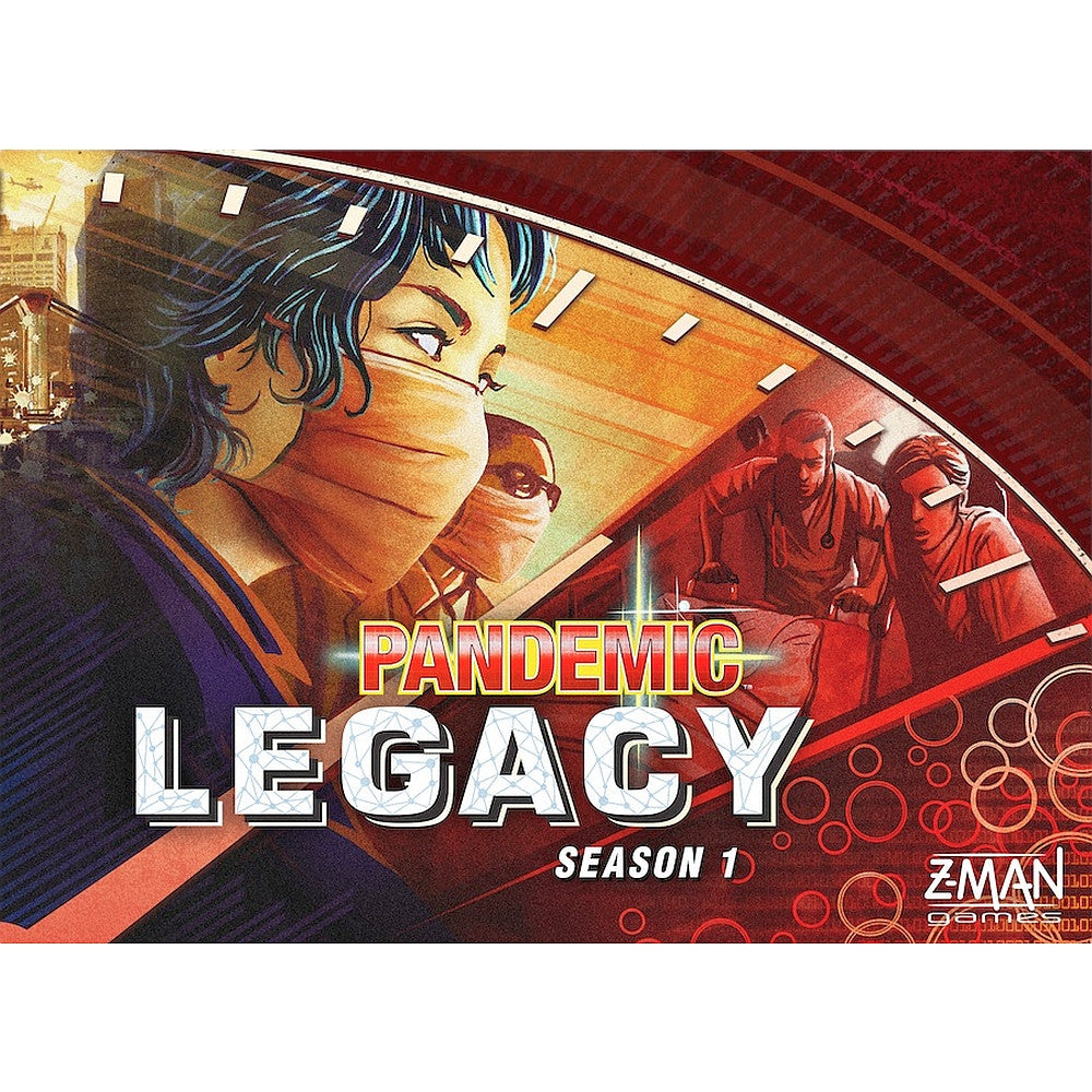 Z-Man - Pandemic Legacy - Red Edition