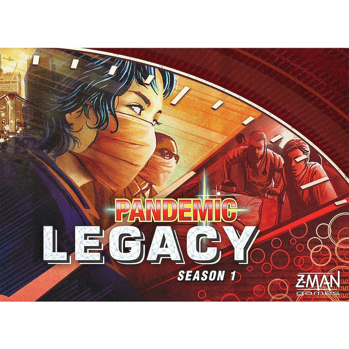 Z-Man - Pandemic Legacy - Red Edition Board Game