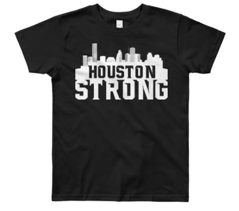 Houston Strong (Black) - Kids