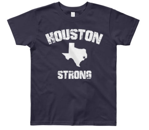 Houston Strong (Navy) - Kids