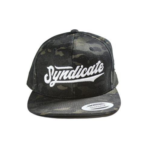 Big league SnapBack (camo black)