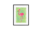 Flamingo Art Print Image 1