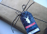 Merry Christmas Deer Gift Tags Image 2