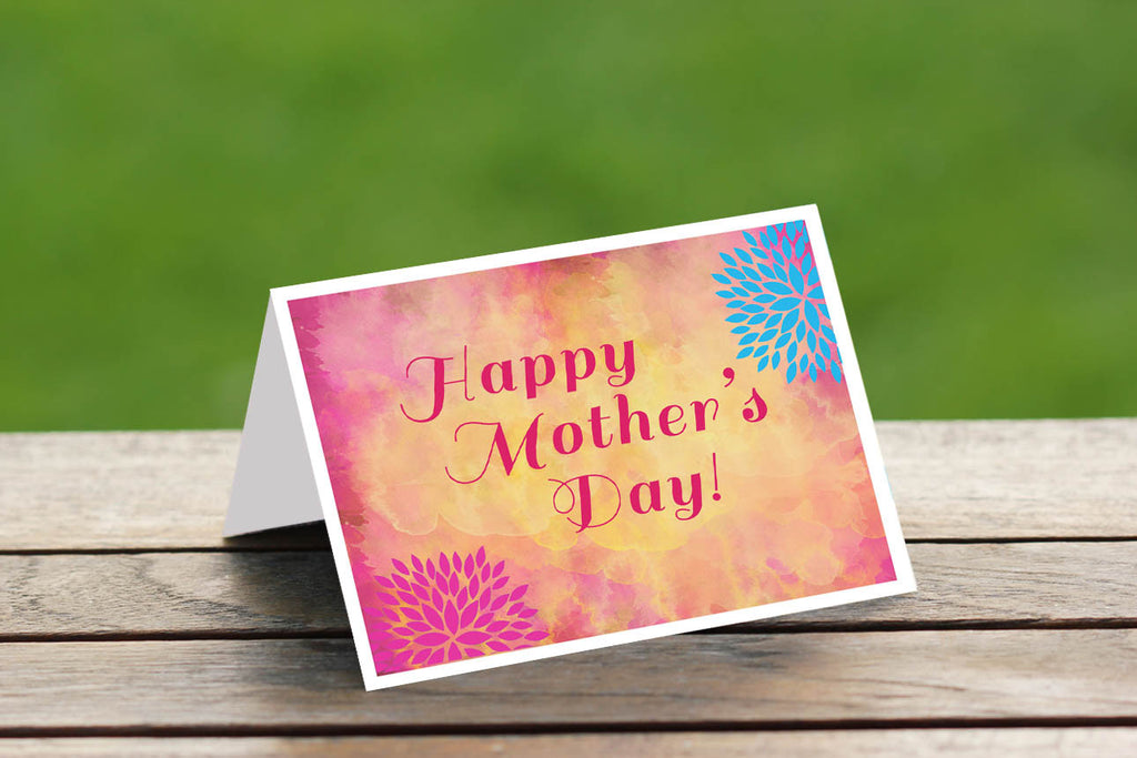 Watercolour Floral Mother's Day Card