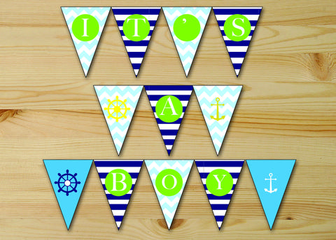Nautical  Banners