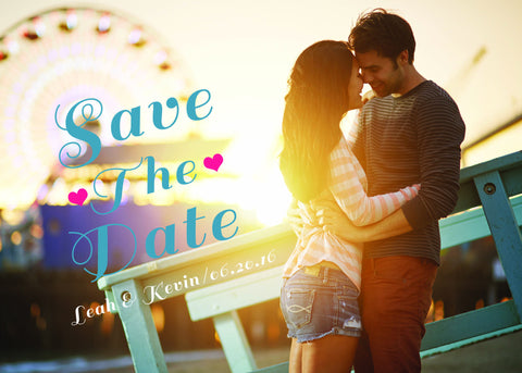 Save The Date: Summer Love Printable