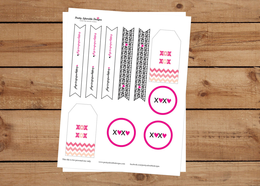 Valentine's Day Instant Download Free Printable