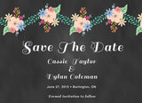 Chalkboard Save The Dates