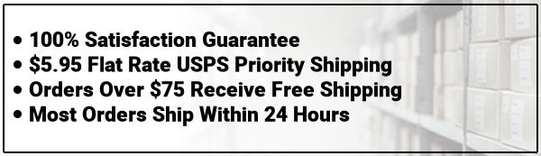 Free Radical Labs Guarantee, Flat Rate Shipping and Free Shipping for Orders over $75