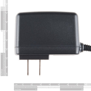 Wall Adapter Power Supply - 5.25V DC 2.4A (USB Micro-B)