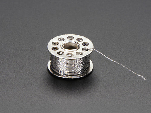 Stainless Thin Conductive Thread - 2 ply - 23 meter/76 ft