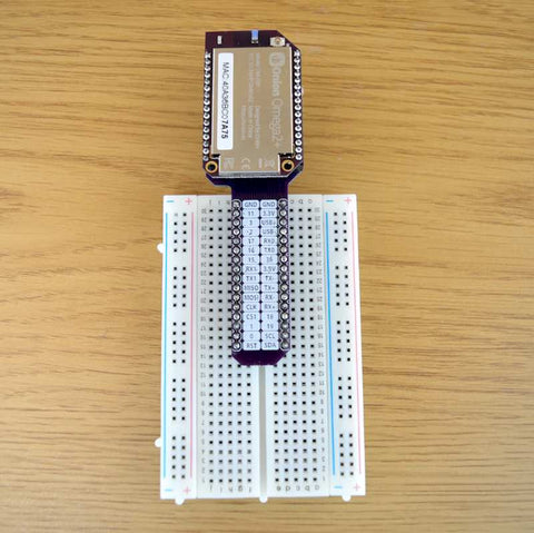 Onion Omega2 Breadboard Dock