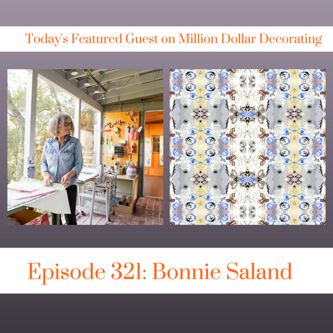 Bonnie Saland interviewed on Million Dollar Decorating Podcast
