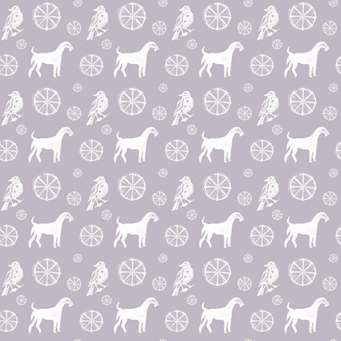 Pattern: Bird Dog Color: Violet