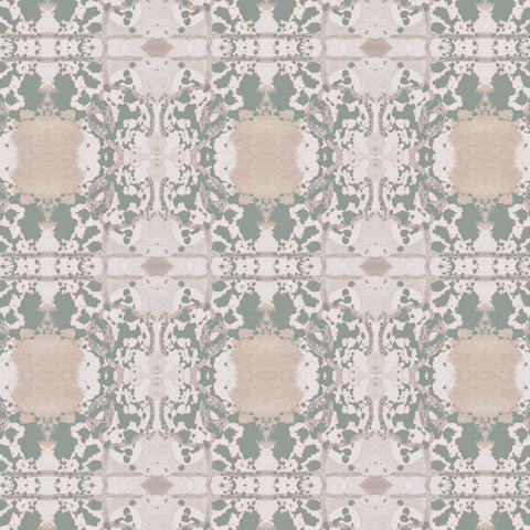 Pattern: Mirror <br>Color: Seafoam Green
