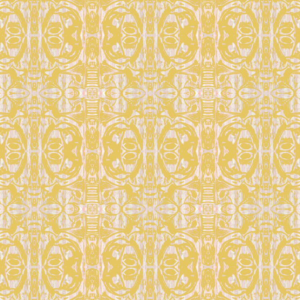 Pattern: Cobra Egg <br> Color: Mustard