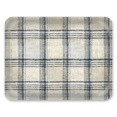 Decorative Tray: Cheater Plaid