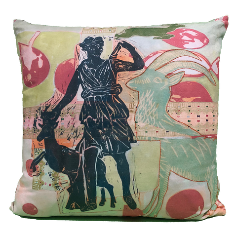 Pillow: Diana with Ram