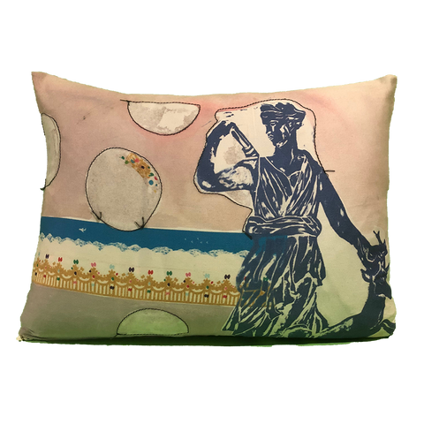 Pillow: Diana with Moon