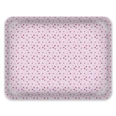 Decorative Tray: Bead in Raspberry