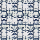 Itajime Midnight wallpaper from the Indigo Calico Collection
