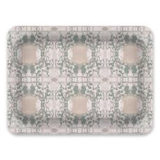 Decorative Tray: Mirror, Seafoam Green