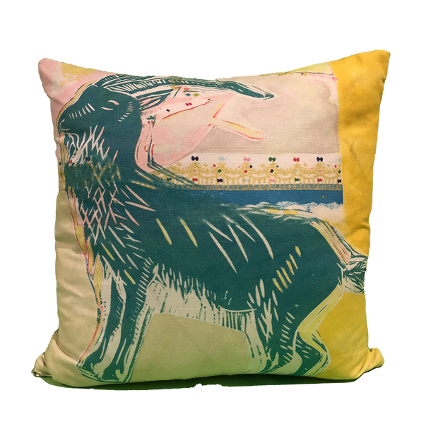 Pillow: Ram with Crown