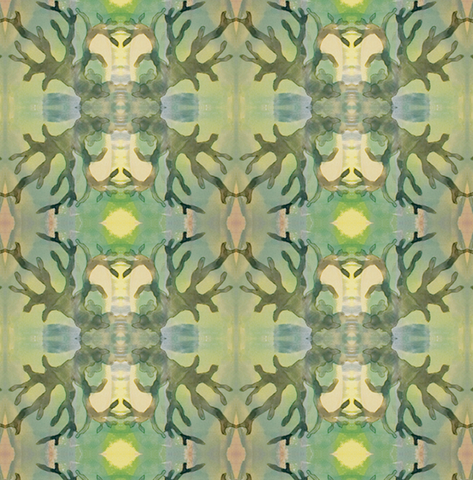 Pattern: Algae <br> Color: Celadon