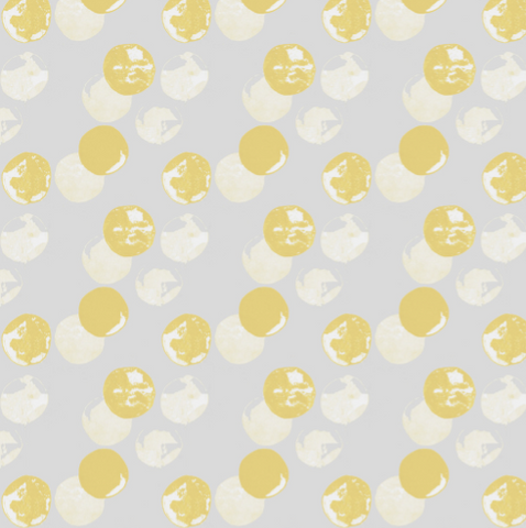 Pattern: Moon <br> Color: Citrus