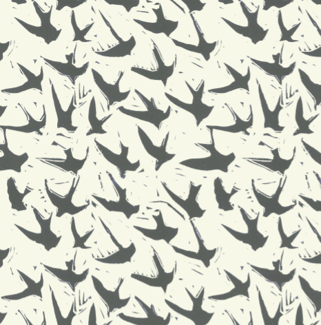 Pattern: Bird by Bird <br> Color: Clay