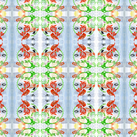 Pattern: Botanical  Color: Primary
