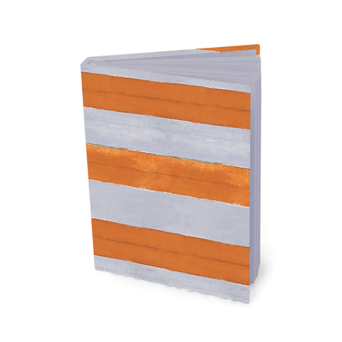 Journal: Cabana Stripe, Orange