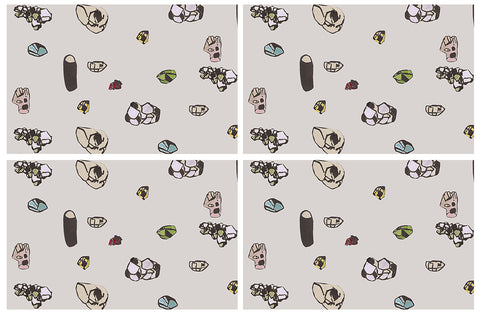 Placemats: Gemstones