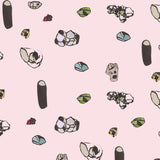Pattern: Gemstones <br> Color: Rose Quartz