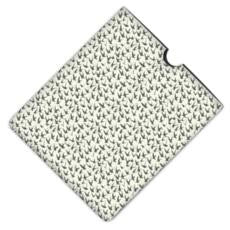 iPad Envelope Case: Bird By Bird, Clay