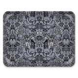 Decorative Tray: Indian Floral, Slate