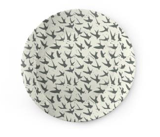 Ceramic Plate: Bird By Bird, Clay