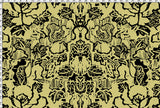 Pattern: Indian Floral <br>Color: Chartreuse