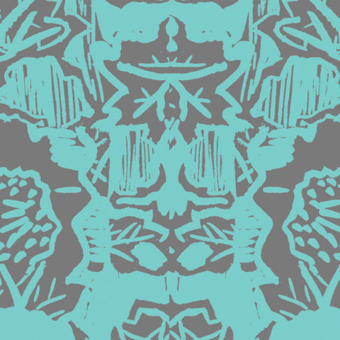 Pattern: Indian Floral <br> Color: Arsenic