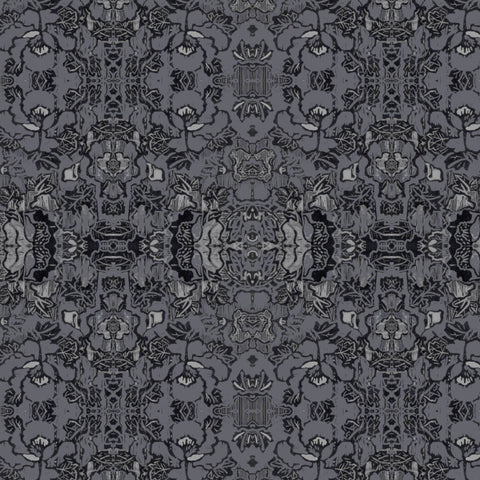 Pattern: Indian Floral <br>Color: Charcoal