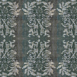 Pattern: Indian Floral Waxed  <br> Color:  Charcoal