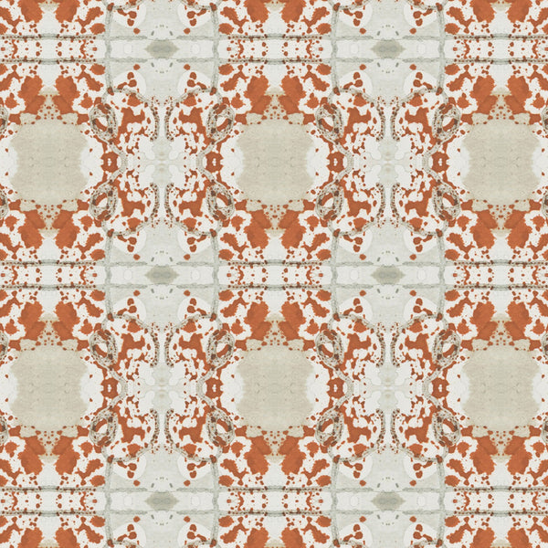 Pattern: Mirror Color: Rust