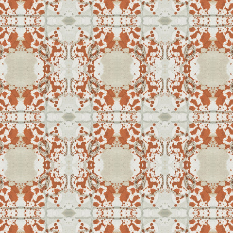 Pattern: Mirror <br>Color: Rust