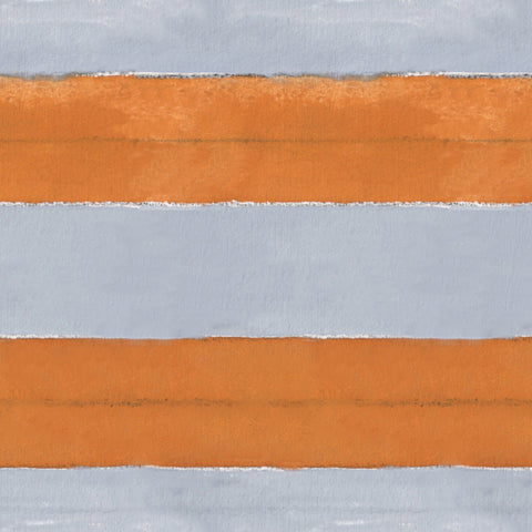 Pattern: Cabana Stripe No. 10 <br>Color: Orange