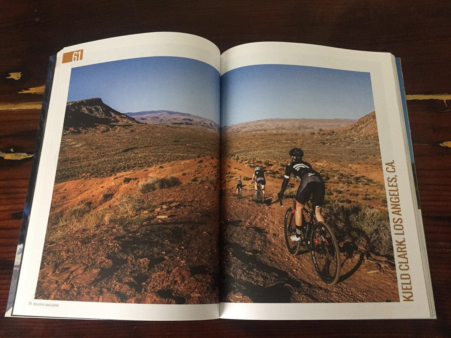 Kjeld in the 2016 Peloton annual