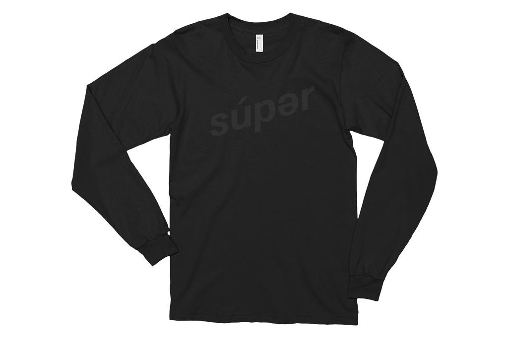 súperstealth long sleeve t-shirt
