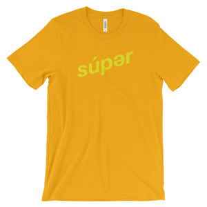 súpertechnique YELLOW t-shirt