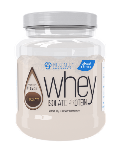 Whey Isolate Protein Snack Edition: Premium Flavor Chocolate